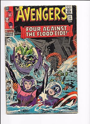Marvel Comics The Avengers  Issue No 27 VG