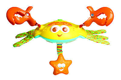 A Great Gift Crosby Clip-On Crab by Tiny Love-Stroller Toy-Babies Love Me!