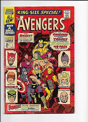 Marvel Comics The Avengers King Size Special No 1 FN?