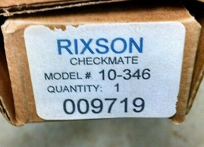 Rixson Checkmate 10-346 Surface Overhead Stop Hold Open - Multi Function US32D