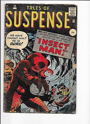 Marvel Comics Tales Of Suspense Issue No 24 VG-? Insect Man Ant