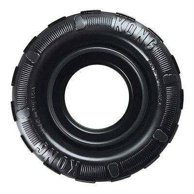 "Kong Traxx Extreme Ultra Durable Rubber Dog Toy Tyre  4.5"" Diameter"