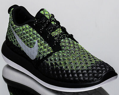 060c5ea57773 Nike Roshe Two Flyknit 365 2 men lifestyle sneakers NEW volt grey 859535-700