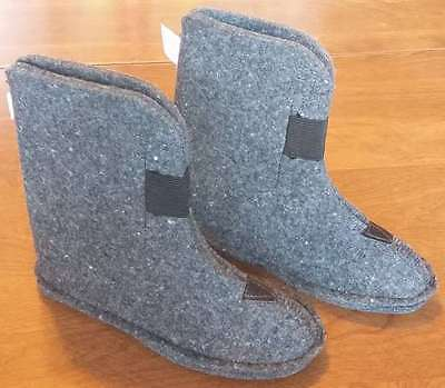 *NEW*CHILD Size 10 Winter Boot Felt Liners 80% Wool Snowmobile inserts