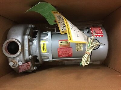 G-R Gorman-Rupp Motor Driven Self-Priming Centrifugal pump, Model 02D3-X1.5 1P