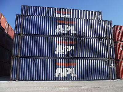45 ft HIGH CUBE Shipping Container