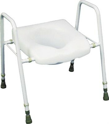 Aidapt President Raised Toilet Seat and Frame VR220