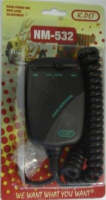 K-PO NM532 CB Power Microphone With Level Adjustment
