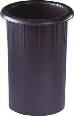 Black Moulded Plastic Port Tube (75mm) L092B