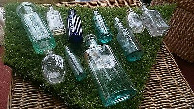 small old bottles