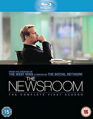 BLU RAY - THE NEWSROOM: THE COMPLETE FIRST SEASON - series one 1 first 1st