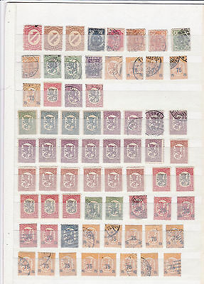 Collection Of Early Finland    Stamps  Ref 4549