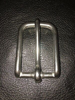 "4-L Round Trace Buckle Stainless Steel 2"" Lot Of 50"