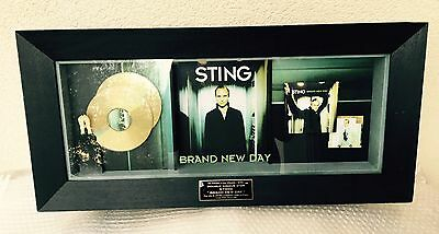 48h: STING Rare Authentic French Double GOLD Award Brand New Day Certified Snep