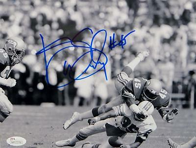 Kenny Easley Autographed Seahawks 8x10 Black and White Photo- JSA W Auth