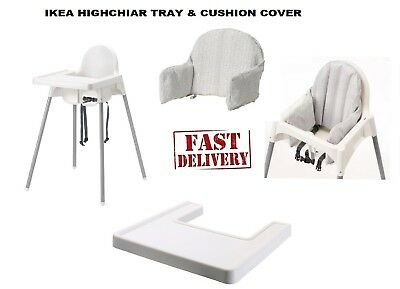 Ikea Baby Feeding Highchair With Safety Strap/tray Antilop High Chair Plastic