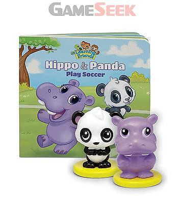 Leapfrog Learning Friends Hippo And Panda Figure Set With Board Book - Brand New
