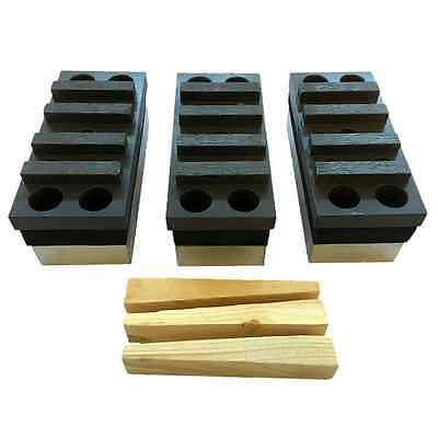 3PK Dyma-Serts #30/40 Diamond Grinding Block for EDCO Concrete Grinding Grinder