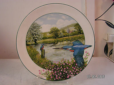 lovely kingfisher collectors plate.