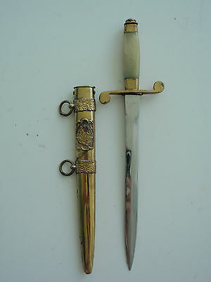 Romania Socialist Officer's Dagger. Numbered