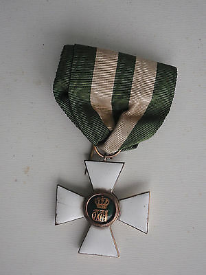 Luxembourgh Order Of The Oaken Crown Knight Grade. Silver. Silver Vg
