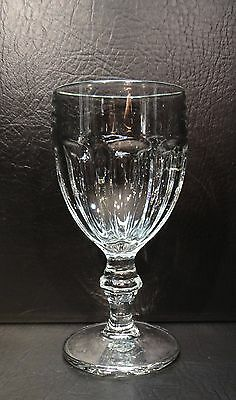 Libbey Duratuff Gibraltar Clear Water Goblet Multiples Available