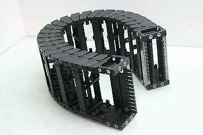"Igus E6-52 Energy Chain Cable Chain Wireway Cable Carrier 32"" Long 6"" x 2.5"""