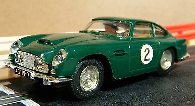 Scalextric Vintage Aston Martin Db4 In Excellent Condition (C68)