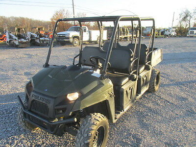 2011 Polaris 500 Crew 4 Seater Utility Vehicle!