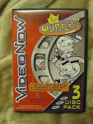 "Video Now ""The Fairly Odd Parents"" VideoNow 3 Disc Pack (5 Full-Length Episodes)"