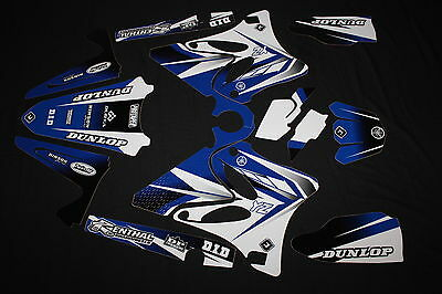 Yamaha Yz 125-250 2006-2014  Pts Two Flu Mx Graphics Decals Kit Stickers