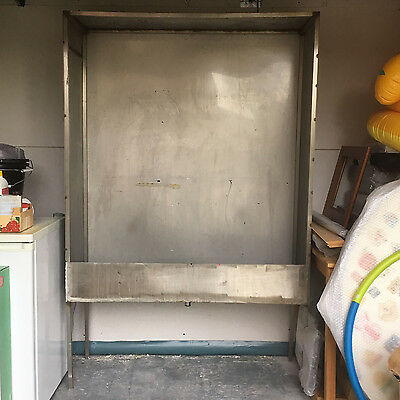 Bespoke Stainless Steel Screen Printing Washout Booth