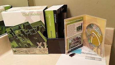 Chief Architect Professional 3D Architectural Design &Drafting Software X1 AS IS