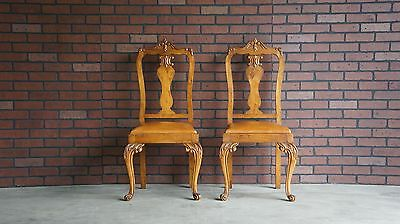 Chairs / Antique French Chairs / Vanity/Desk Chairs / Accent Chairs ~ Pair