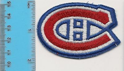 Embroidered Crest 1.75 x 2.75 inches - NEW - Montreal Canadiens