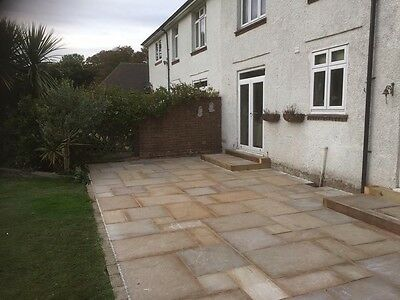 Indian sandstone supplied and fitted £79 per m2