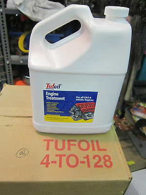 Tufoil Engine Treatment 1 Gallon Gas Diesel Additives 128 FL. OZ 3.78 Liter NEW
