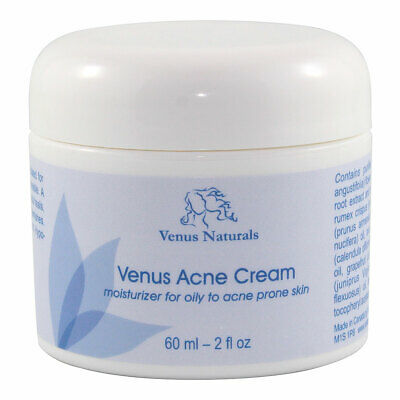 Venus Acne Care Aromatherapy Cream with Healing Herbs and Essential Oils