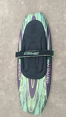 "O'Brien Airageous Knee Board, 54"" Outdoor Wakeboarding Green Black"