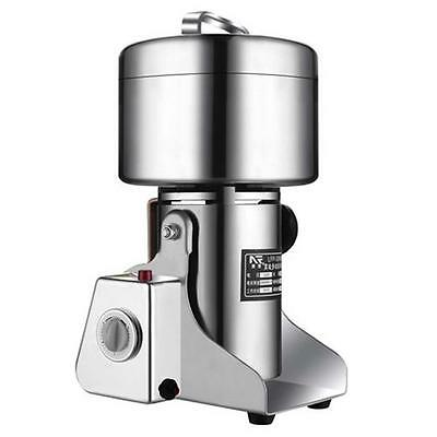 800G 1800W Commercial Stainless Steel Coffee Bean Grain Mill Grinder Crusher
