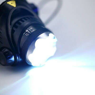 XML-T6 LED 1800LM Rechargeable Zoomable Headlamp Headlight Flashlight Torch GT