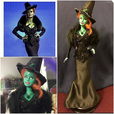 Barbie Doll OOAK As Zelena The Wicked Witch - Once Upon A Time OUAT