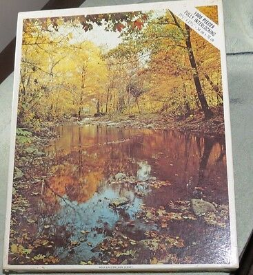 Near Califon New New Jersey NJ vintage sealed 1000 piece Whitman Puzzle NEW 4777