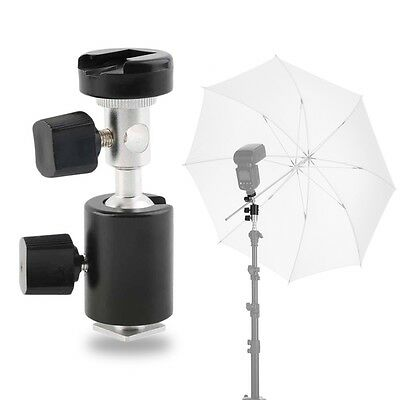 360¡ã Swivel Type C Flash Shoe Umbrella Holder Light Stand Bracket for Canon GT