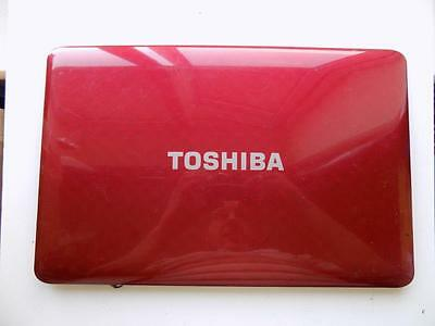 Toshiba Satellite L750 L750D LCD Screen Lid Top Cover Red A000080650