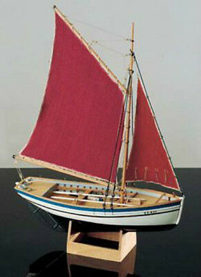 """Detailed, Brand New Wooden Model Ship Kit by Corel: the """"Sloup"""""""