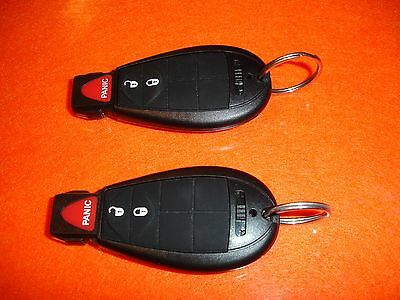2008 Town And Country Key-Fob Used Lot Of 2