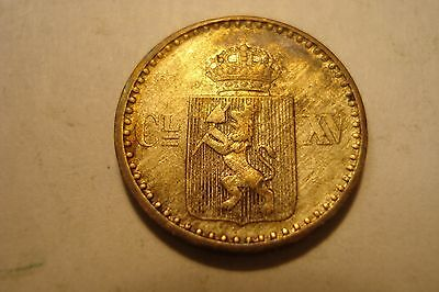 Norway    Silver   2  Skilling  1871