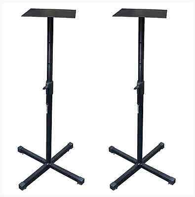 "ICON SB-100X Universal Monitor Stands For Up To 6"" Monitors"