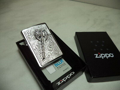 Zippo Accendino Lighter Serie Swords Modello 3 New
